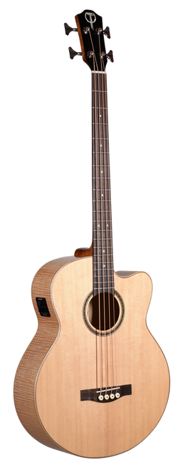 Teton Acoustic Bass Guitar STB130FMCENT Front View