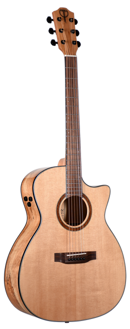 Teton Acoustic Guitar STA130SMCENT Front View