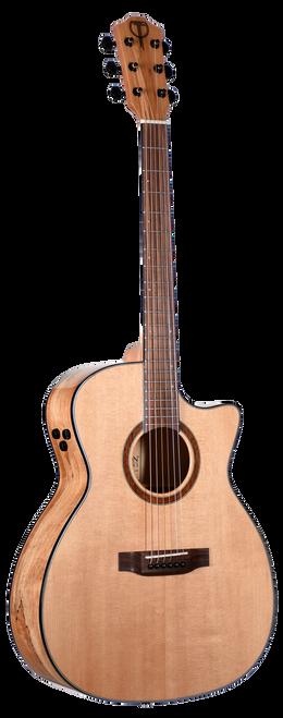 Teton Acoustic Guitar STA130SMCENT Front View