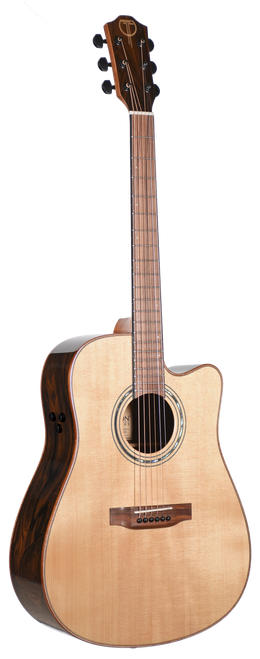 Teton Acoustic Guitar STS160ZICENT Front View