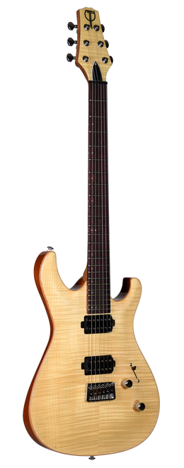 Teton Electric Guitar R1630FM Front View