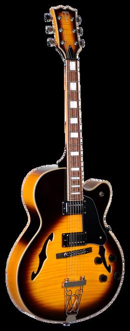 Teton Electric Guitar F1433FMVS Front View