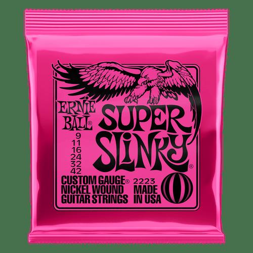Ernie Ball Electric Super Slinky Guitar Strings
