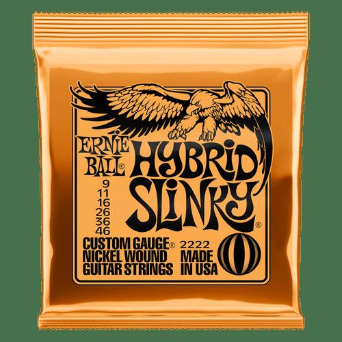 Ernie Ball Electric Hybrid Slinky Guitar Strings