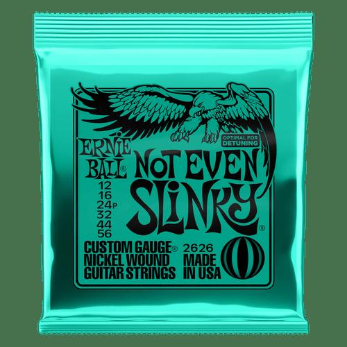 Ernie Ball Not Even Slinky Custom Gauge Nickel Wound Guitar Strings 12, 16, 24,