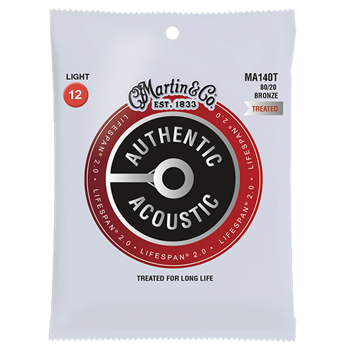 Lifespan 2.0 Acoustic guitar strings MA170T 80/20 Bronze Treated Extra Light, 10