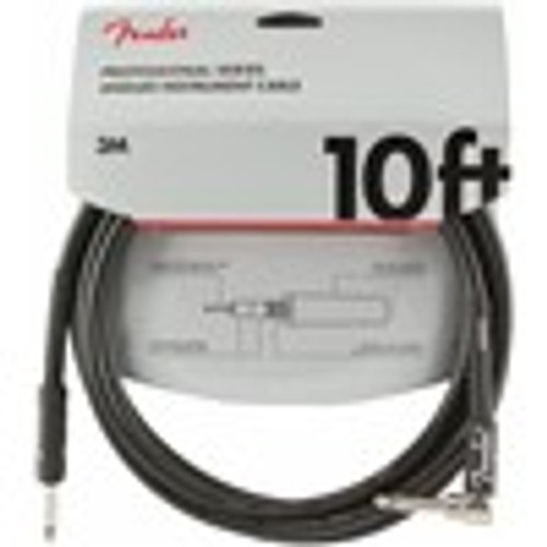 Fender Professional Series Instrument Cable 10ft Right
