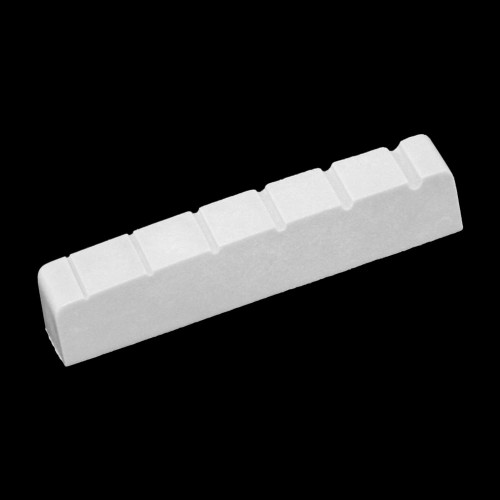 Plastic Slotted Nuts for Steel String Guitars 45x6mm