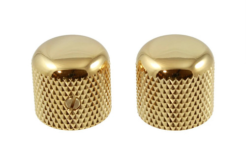 Gotoh Gold Dome Guitar Knobs (2)