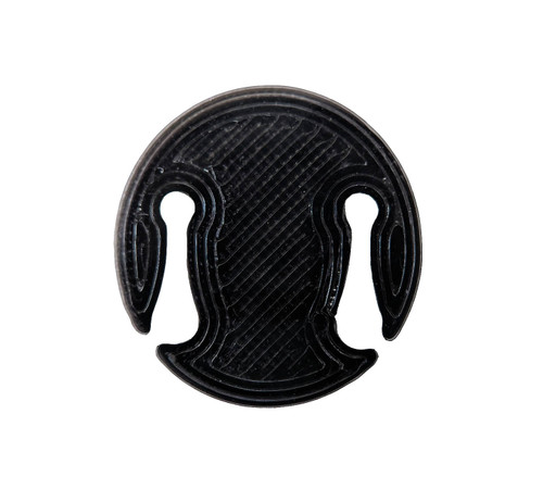3D Sound Cello Mute Disc-Shaped Onyx Black