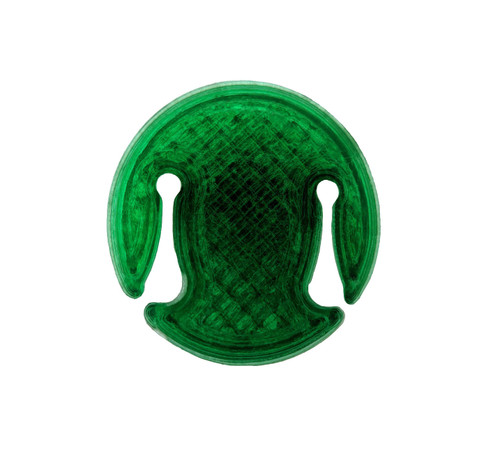 3D Sound Cello Mute Disc-Shaped Emerald Green