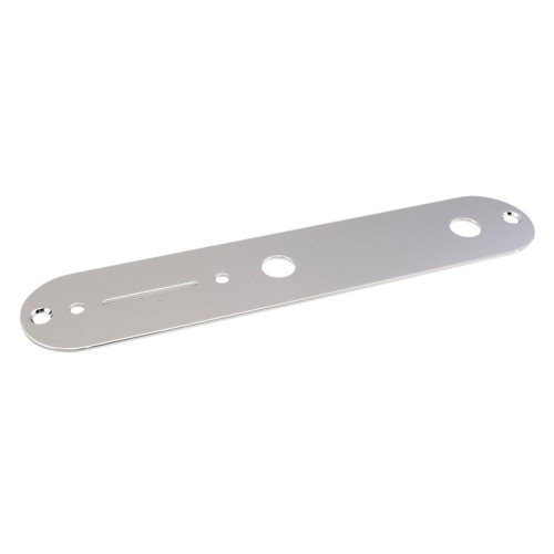 Chrome Control Plate for Telecaster Gotoh