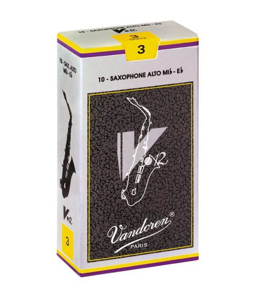 Vandoren V12 3 Reeds Alto Saxophone 10 pack
