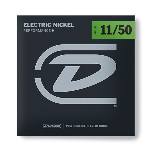 Dunlop PERFORMANCE+ ELECTRIC GUITAR STRINGS 11-50
