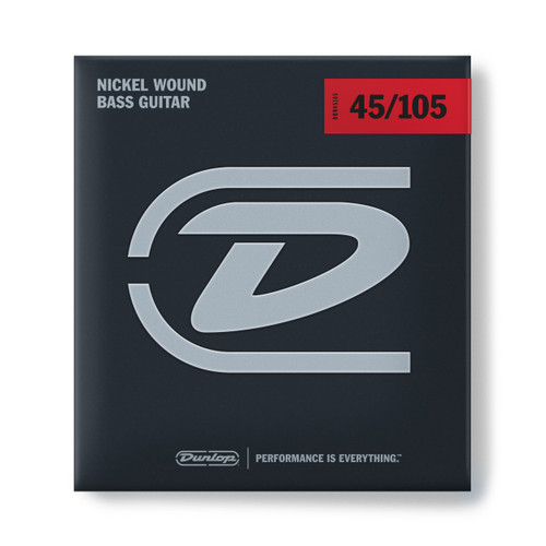 Dunlop NICKEL WOUND BASS STRINGS 45-105