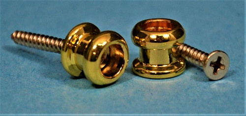 Allparts Strap Buttons Gold