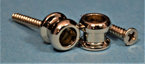 Allparts Strap Buttons Nickel