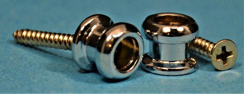 Allparts Strap Buttons Chrome