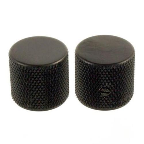 Black Metal Barrel Knobs