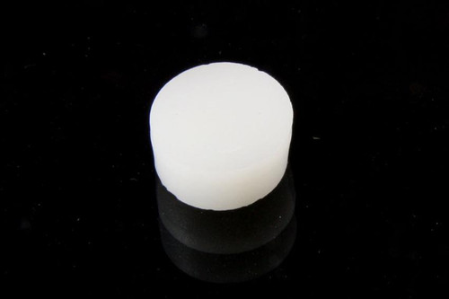 White Inlay Dots 1/4 in. (6.35mm) 12 pcs.