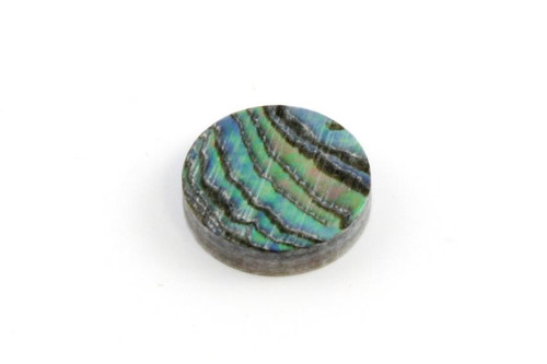 Abalone Green Inlay Dots 1/4 in. (6.35mm) 12 pcs.