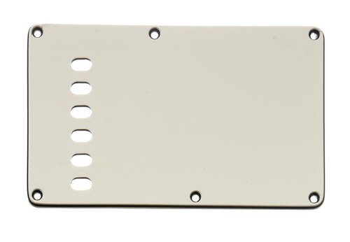 Parchment 3-ply Tremolo Spring Cover Backplate