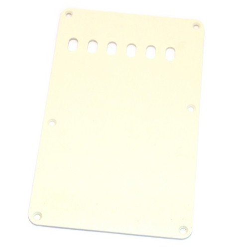 Parchment 1-ply Tremolo Spring Cover Backplate