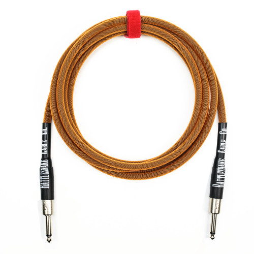 Rattlesnake Cable Co. 10' Standard Copper Straight Plugs