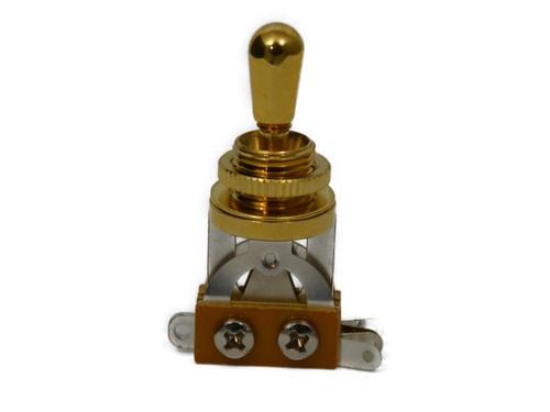 Gold Economy Short Toggle Switch