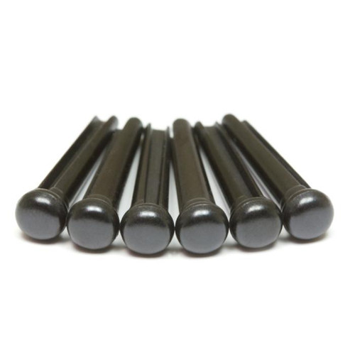 TUSQ TRADITIONAL BRIDGE PINS BLACK NO DOT