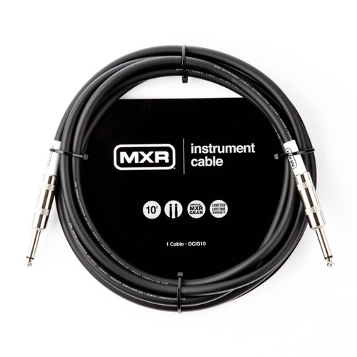 MXR 10FT Standard Instrument Cable Straight