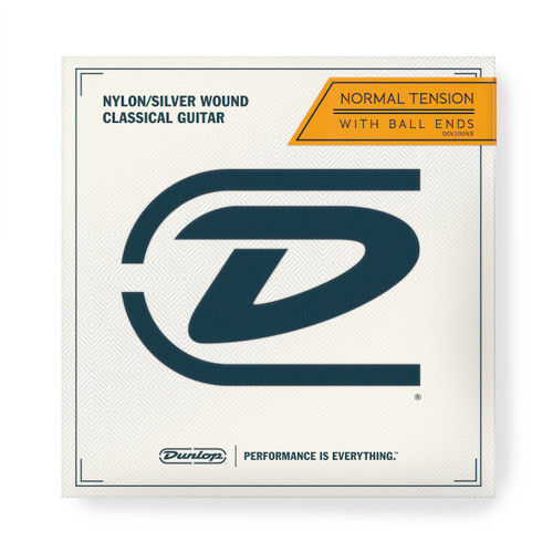 Dunlop DCV100NB Normal Tension Classical Guitar Strings with Ball Ends