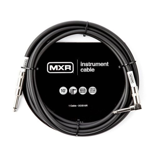 MXR 10FT Standard Instrument Cable Right