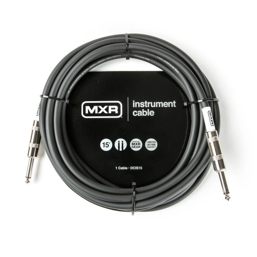 MXR 15FT Standard Instrument Cable Straight