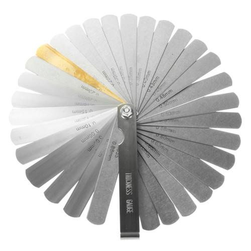 Thickness Feeler Gauges 32-Blade