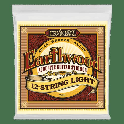 Ernie Ball Earthwood Acoustic 80/20 Bronze Guitar Strings  12-String Light
