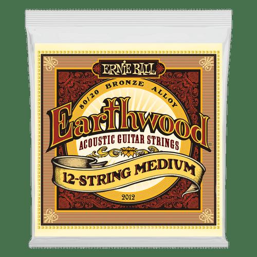 Ernie Ball Earthwood Acoustic 80/20 Bronze Guitar Strings  12-String Medium