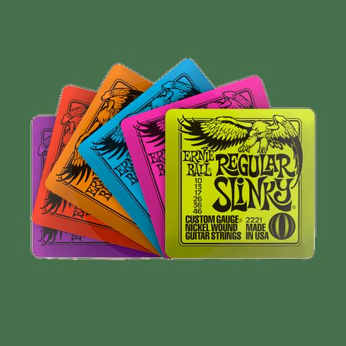 Ernie Ball Slinky Coasters 6 Pack