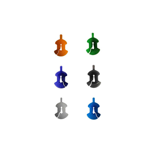 3D Sound Cello Mute Viol-Shaped Ruby Red