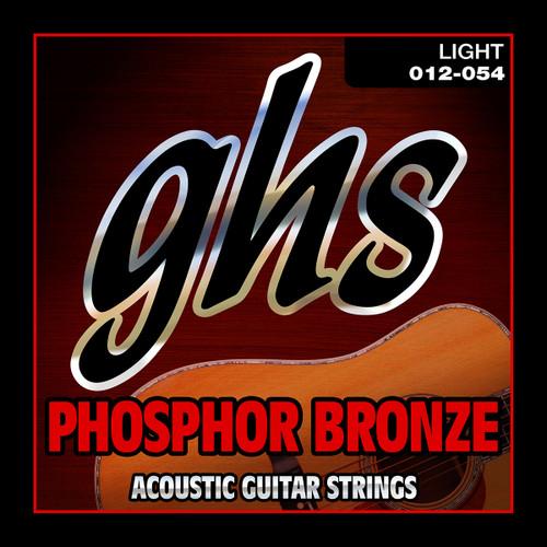 GHS Phosphor Bronze  Light 12-54
