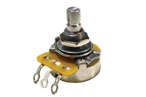 CTS Left Handed 500K OHM Knurled Split Shaft Audio Potentiometer