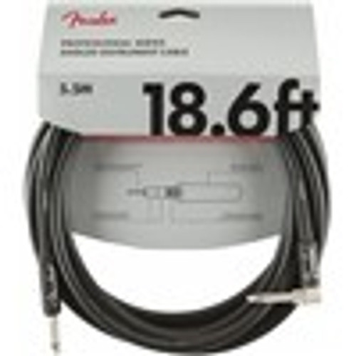 Fender Professional Series Instrument Cable 18.6ft Right