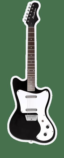 Danelectro 67  DANO Electric Guitar Black