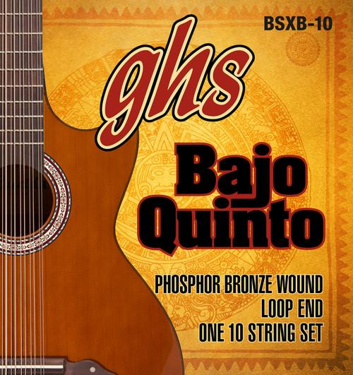 GHS Bajo Quinto Phosphor Bronze Wound Set Loop End