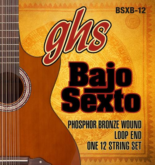 GHS Bajo Sexto Phosphor Bronze Wound Set Loop End