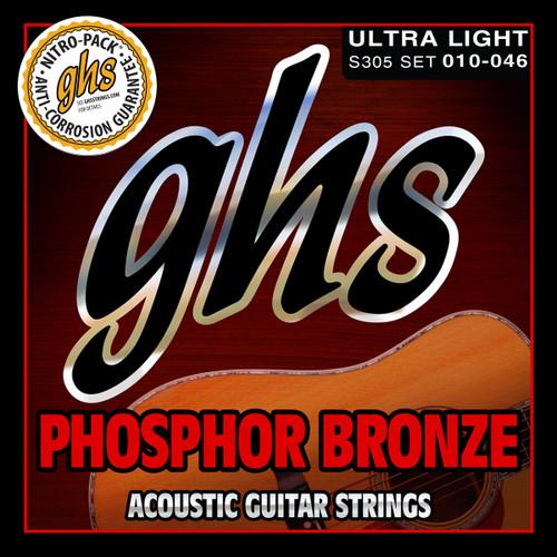 GHS Phosphor Bronze  Ultra Light 10-46