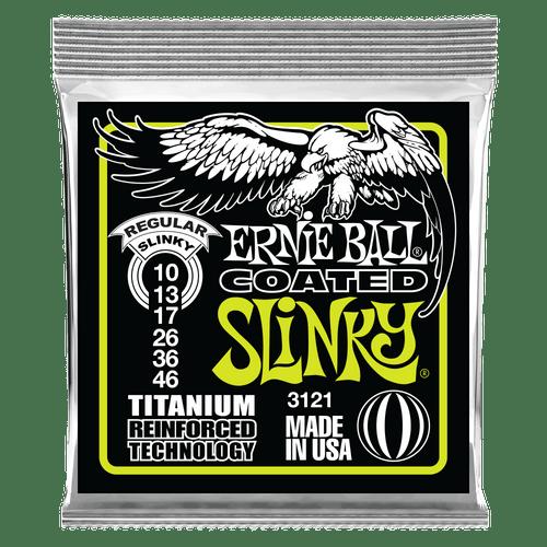 Ernie Ball Regular Slinky Coated Titanium RPS Electric Guitar Strings