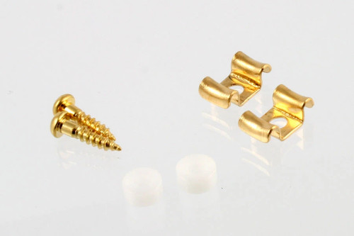 Gold String Guides for Guitar