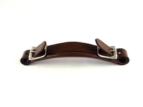 Leather Handle for Gibson-Style Cases Brown