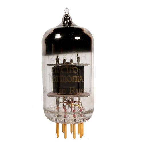 Electro-Harmonix Gold 12AX7/ECC83 Electron Tube Gold Pins